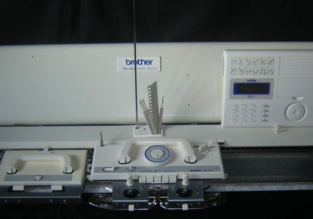 вязальная машина Brother Kh 970kr 850